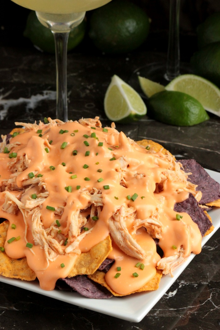 Beer Cheese Chicken Nachos (3)