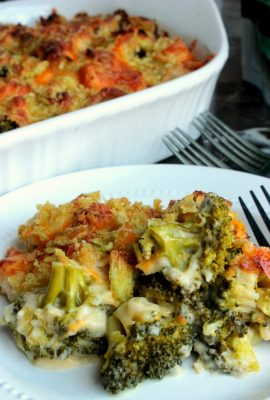 Chicken and Broccoli Au Gratin
