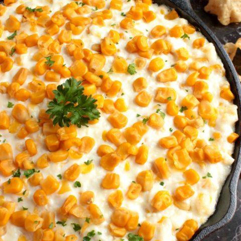 Cotija Cheese and Corn Dip