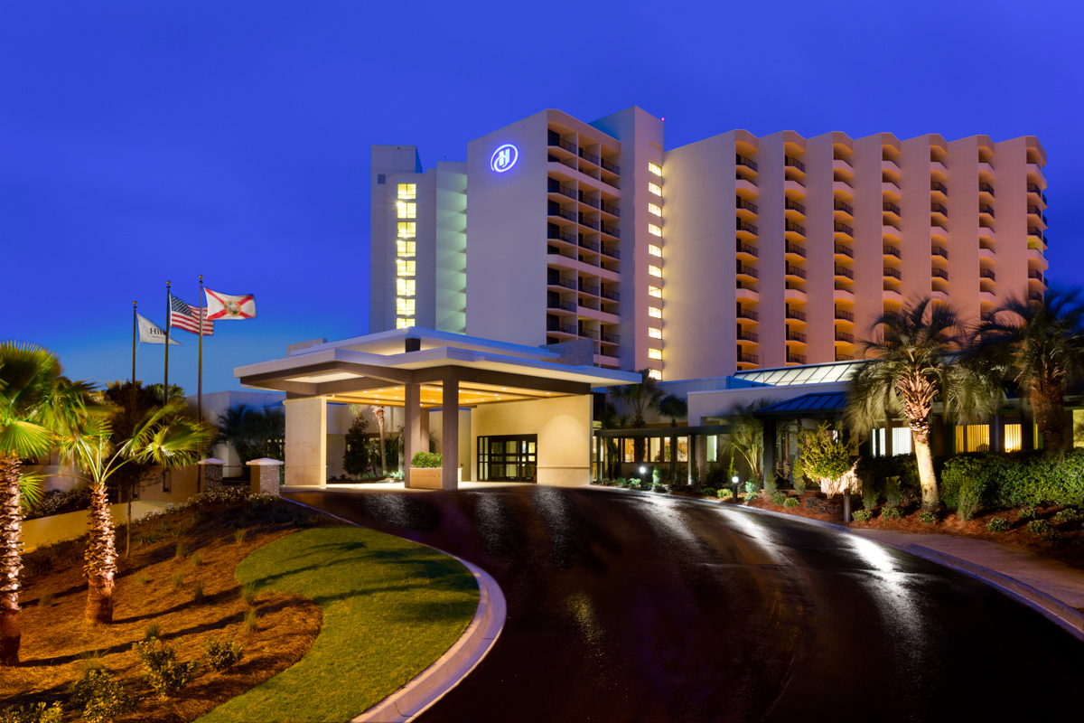 Hilton Sandestin Beach Golf Resort & Spa Main Entrance