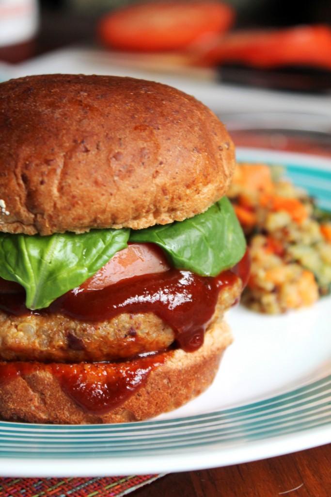 Smoky Chipotle Quinoa Burgers 3