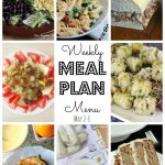 Weekly Meal Plan May 2nd – 8th
