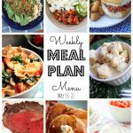 Weekly Meal Plan May 16th - May 22nd
