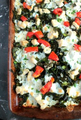 Caprese Chicken Sheet Pan Meal