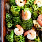 Shrimp and Broccoli Sheet Pan Meal