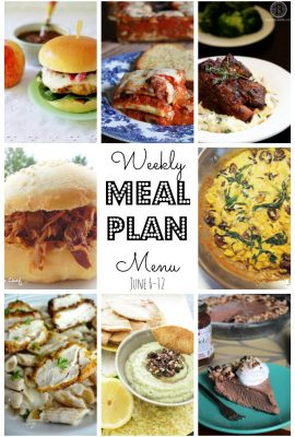Weekly Meal Plan #15