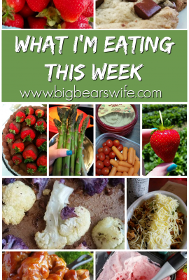What I'm eating this week #1