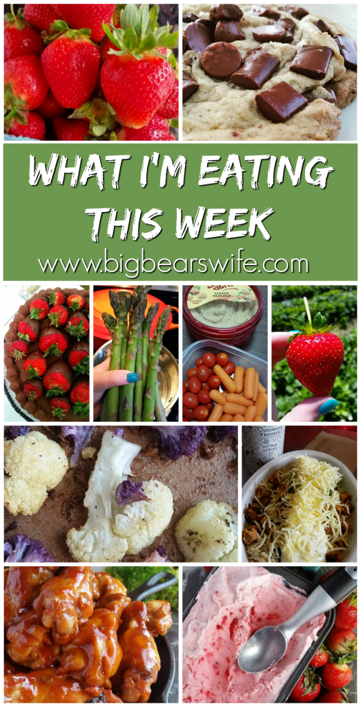 What I'm eating this week