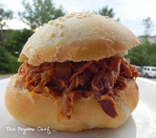 hawaiian-bbq-pulled-chicken-sandwiches