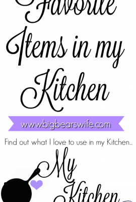 kitchen favorites