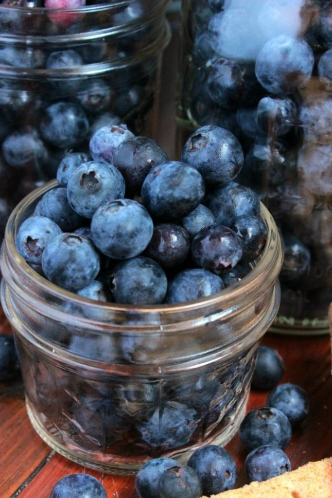 So glad to find a recipe to use up the blueberries from the farmer's market!