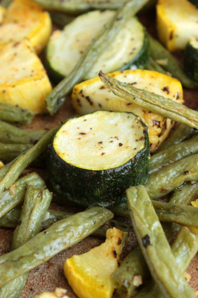 Summer Vegetable Sheet Pan