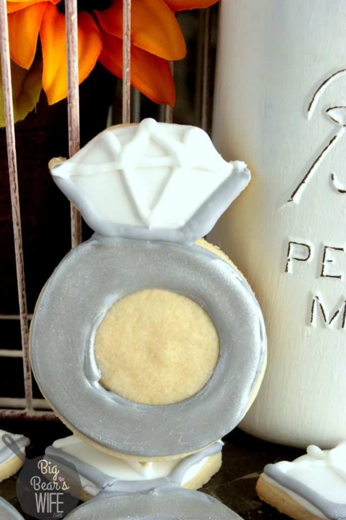 Wedding Ring Cookies 2 Ideal Engagement Ring Sugar Cookies