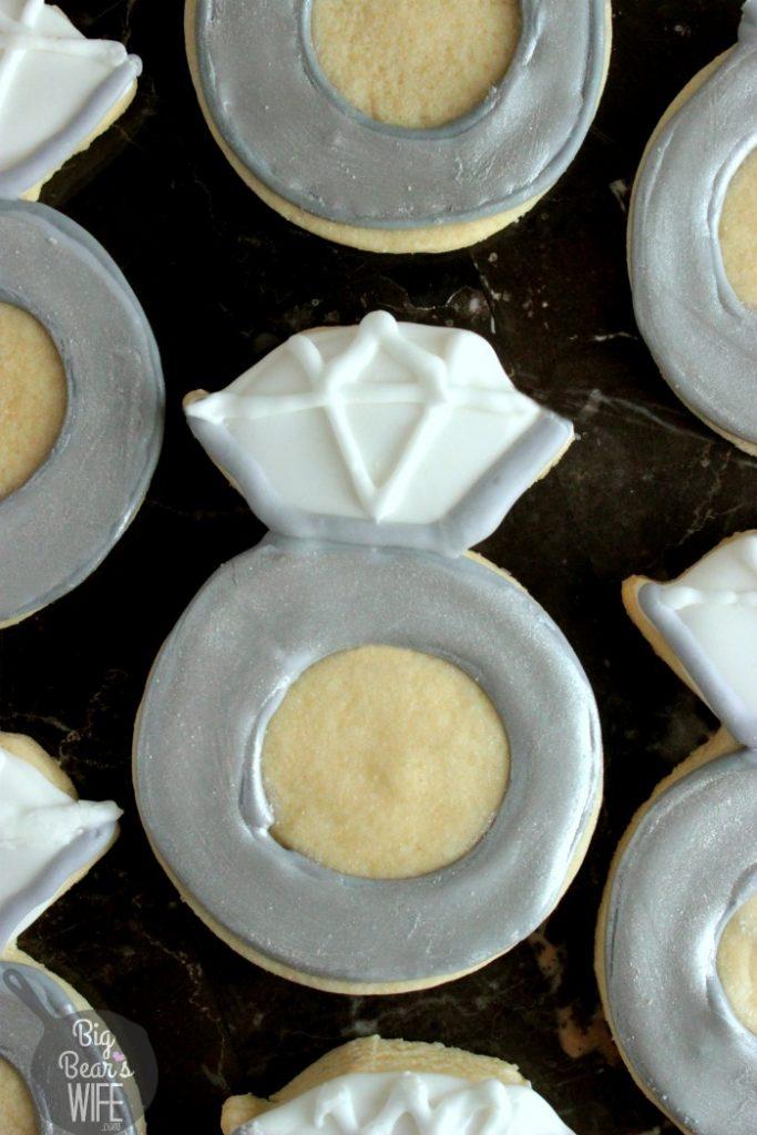 Wedding Ring Cookies 0 Marvelous Engagement Ring Sugar Cookies