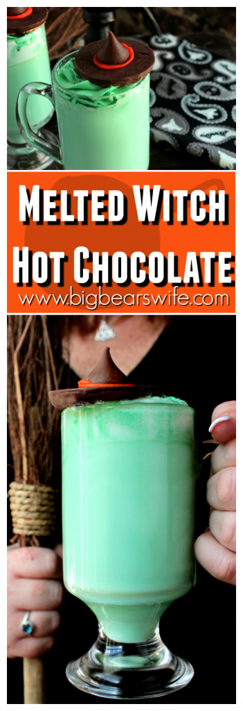 Melted Witch Hot Chocolate