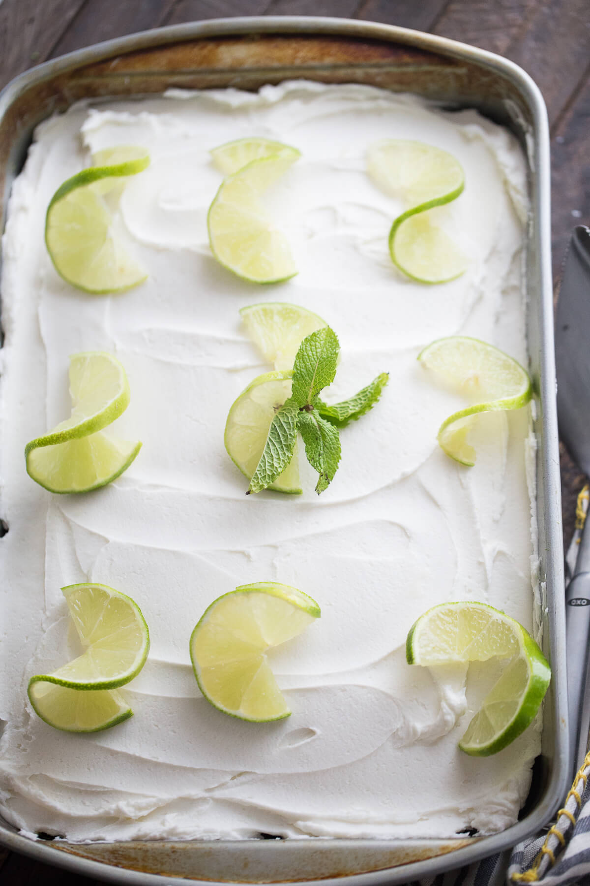 Mojito Poke Cake {Lemons for Lulu}