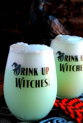 Witches Brew (Lime Sherbet Punch)