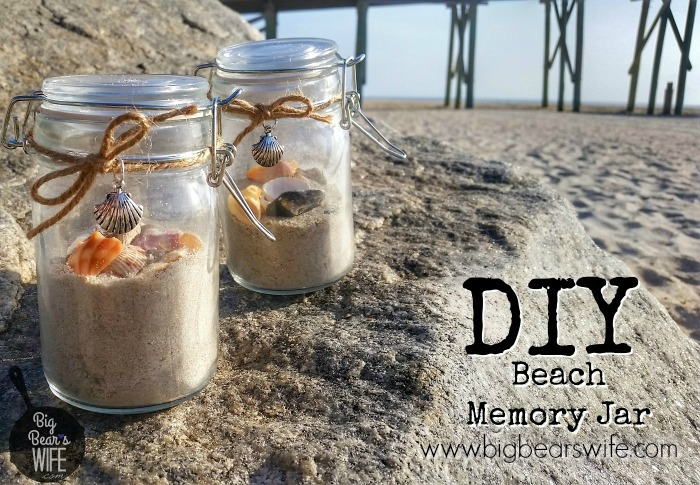 Loved making this  Beach Memory Jar
