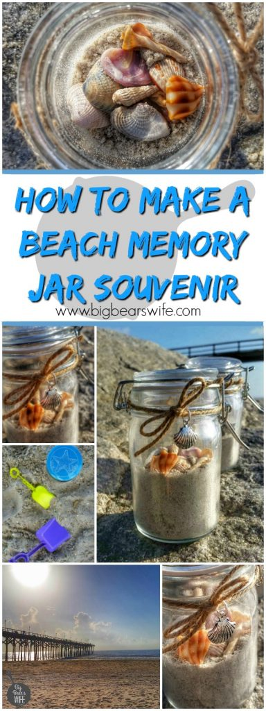 How to Make a Beach Memory Jar