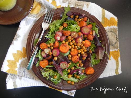 roasted-chickpea-carrot-radish-salad-with-lemon-dijon-dressing4