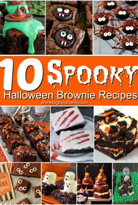 10 Spooky Halloween Brownie Recipes