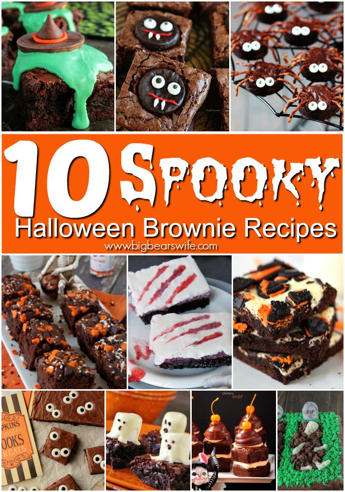10 spooky halloween brownie recipes - Halloween Brownie Recipe