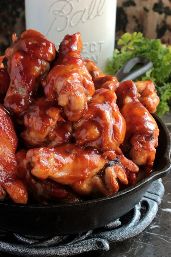30-minute-2-ingredient-bbq-wings-7-683x1024
