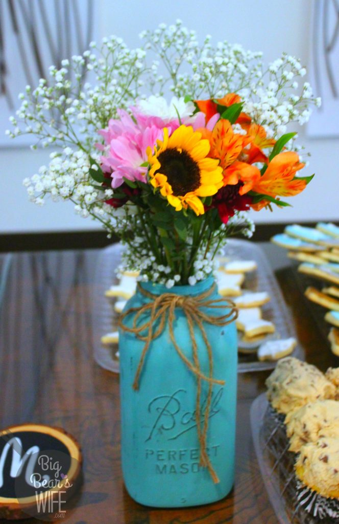 how to throw a rustic country bridal shower