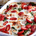 Spinach and Artichoke Chicken Bake with Idahoan Signature Russets