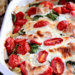 Spinach and Artichoke Chicken Bake with Idahoan Signature Russets #SIGNATURERUSSETS