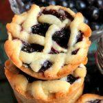Blueberry Pie Sugar Cookies
