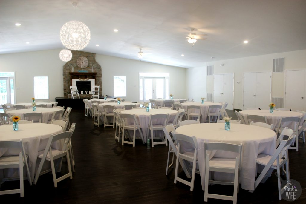 banquet hall seats up to 250 guests