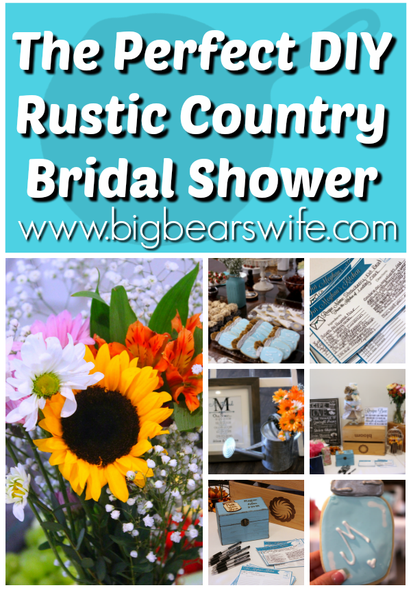 Want To Throw The Perfect Rustic Country Bridal Shower There Are So Many Great Ideas