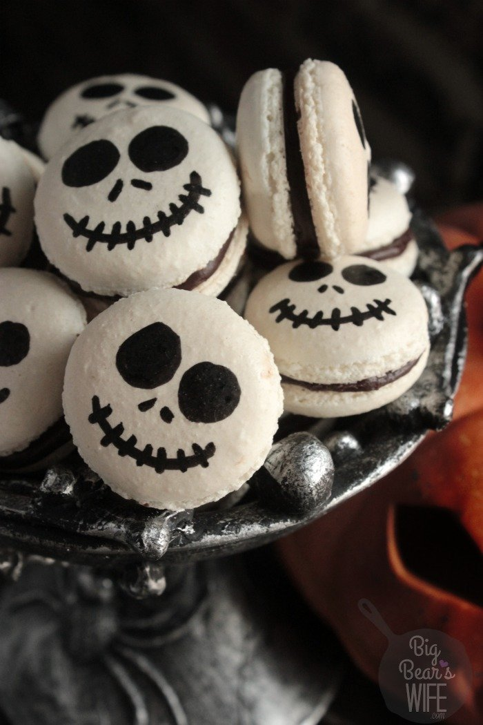 Jack Skellington Macarons Big Bear S Wife