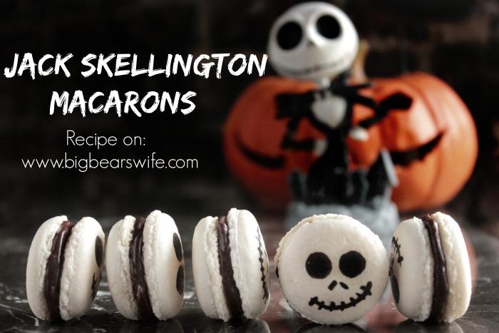 Jack Skellington Macarons