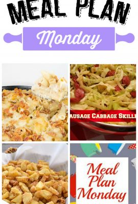 Meal Plan Monday #27