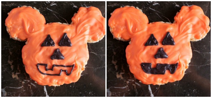 Mickey Pumpkin Marshmallow Cereal Treats