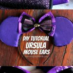 DIY Ursula Mouse Ears Tutorial