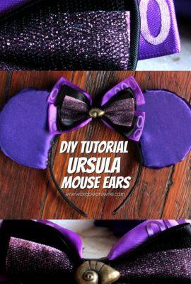 Ursula Mickey Mouse Ears