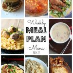 Weekly Meal Plan #29