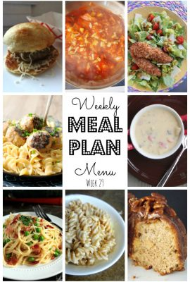 But guess what y'all, it's time for us to bring you another weekly meal plan! Who's ready to get this week started? Which one will you love?