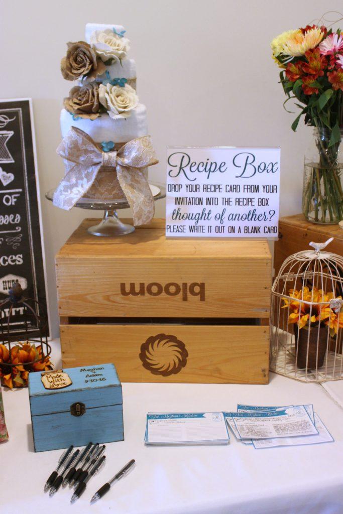 Recipe Box for Wedding Shower