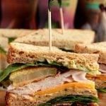 Fried Green Tomato Club Sandwich
