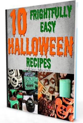 10 Frightfully Easy Halloween Recipe E-book from BigBearsWife.com