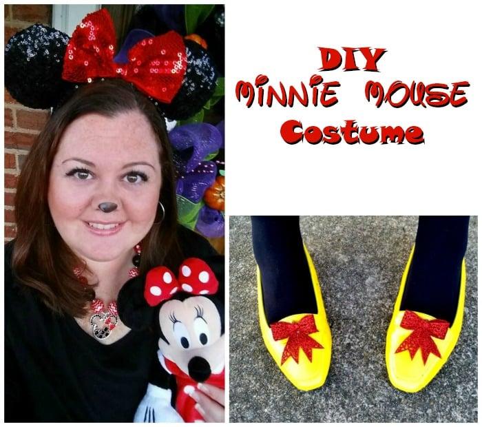 Minnie Mouse DIY Costume