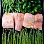Easy Baked Teriyaki Salmon and Vegetable Sheet Pan Meal