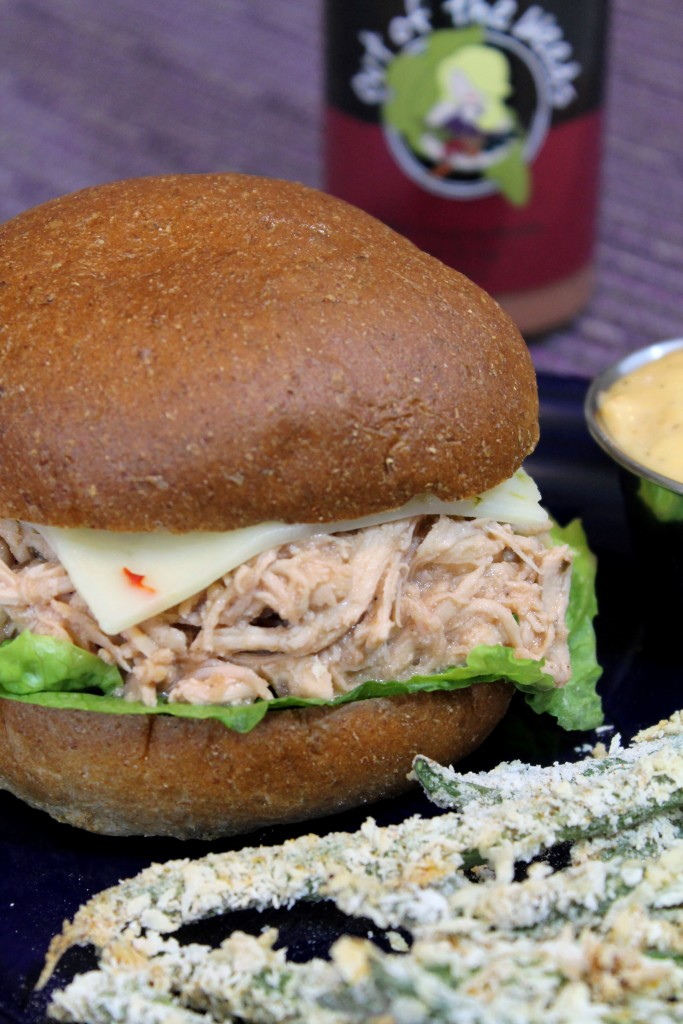 Slow Cooker Chicken Salad Sandwiches 1