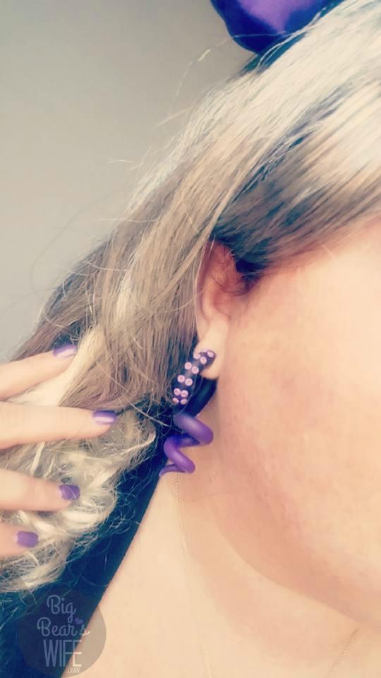 Ursula Costume DIY - earrings