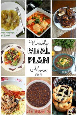 Meal Plan #34