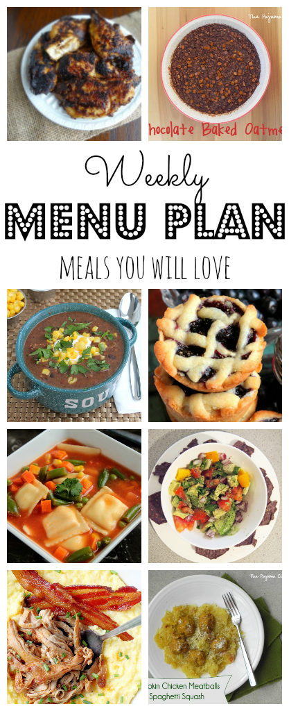 Weekly Meal Plan #34-pinterest